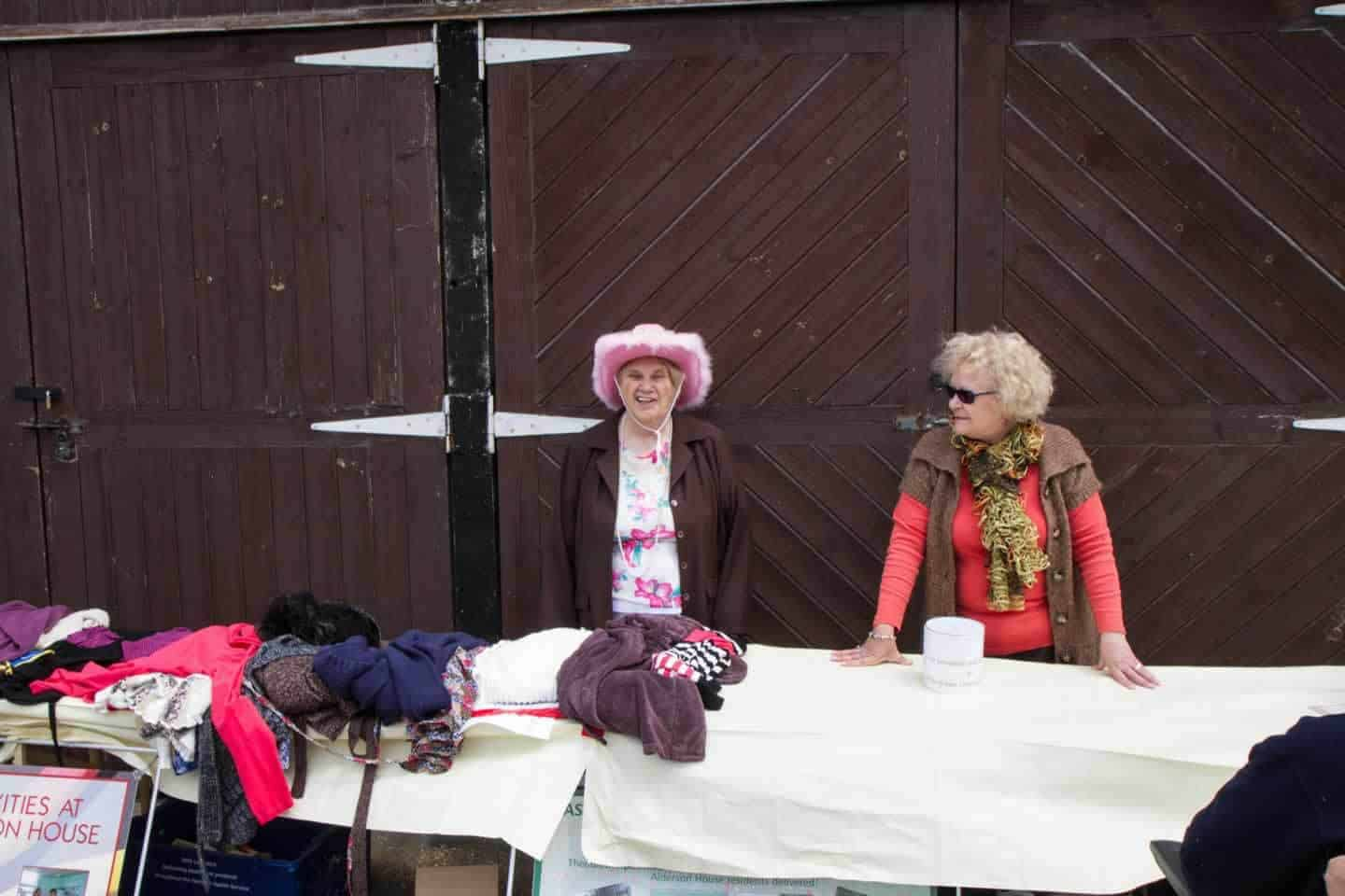 open day stall