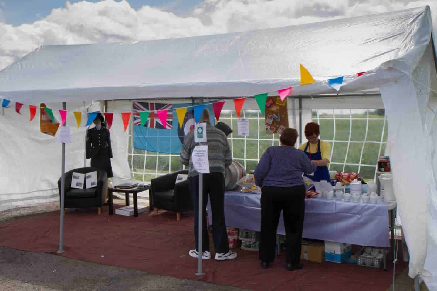 open day cake stall